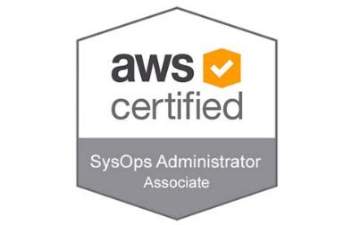 AWS Certified SysOps Administrator Associate logo