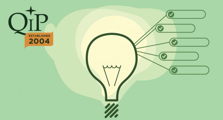 lightbulb and QIP logo