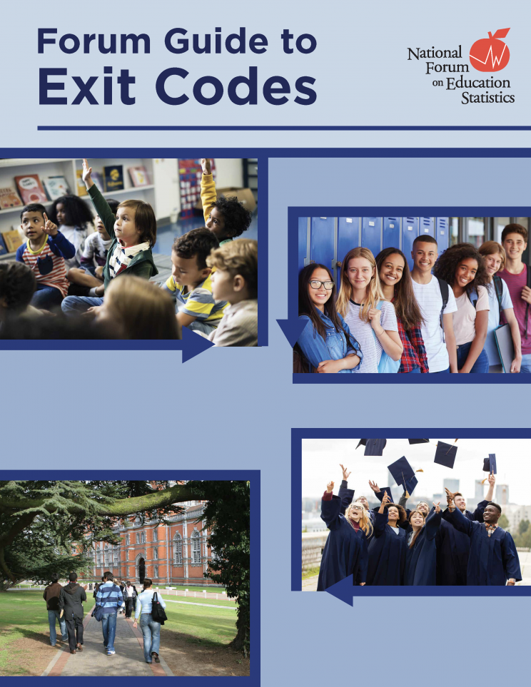 "<a href=""https://nces.ed.gov/pubsearch/pubsinfo.asp?pubid=NFES2020132"">Forum Guide to Exit Codes<a>"